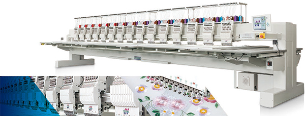 máquina de bordar Tajima TMCR-VF